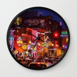 Nashville, Tennessee Wall Clock