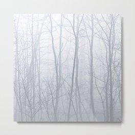 Stand - gray Metal Print