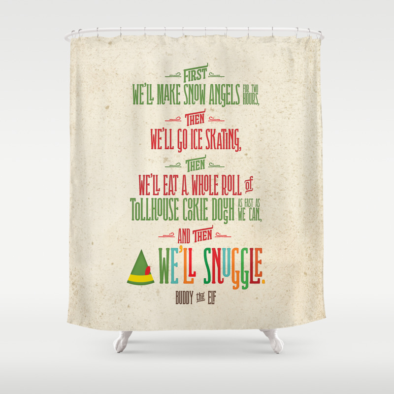 ... Graphic Design Humor And Typography Shower Curtains Society6 Vintage  Dutch Travel Trailer ...