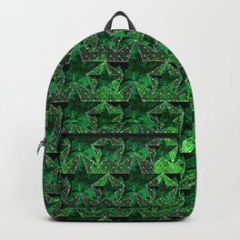 Stars V0 GREEN Backpack