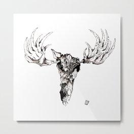 Ohh Deer! Metal Print
