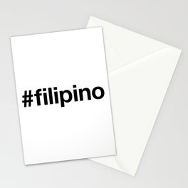 FILIPINO Stationery Cards