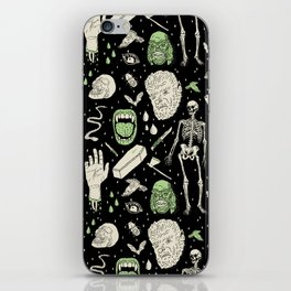 Whole Lotta Horror: BLK ed. iPhone Skin