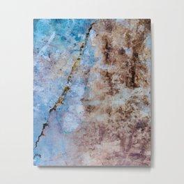 Soft Shores Ocean Abstract Metal Print