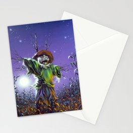 The Scarecrow Walks at Midnight Stationery Cards