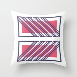 Re-Cadré Throw Pillow