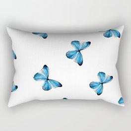 Mariposa Azul  Rectangular Pillow