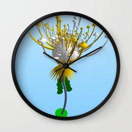 INTERCONTINENTAL BALLISTIC THISTLE Wall Clock