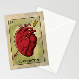 El Corazon Stationery Cards