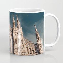 Milan Cathedral, Duomo di Milano, Gothic church, Lombardy, Milan photography Coffee Mug