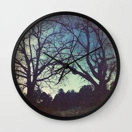 Long Road Home - America As Vintage Album Art Wall Clock
