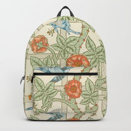 Save Trellis by William Morris (1834-1896). Backpack