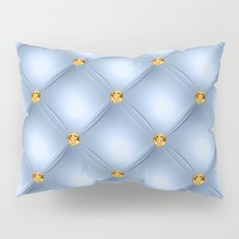 Luxury Tufted Gold Diamond 11 Pillow Sham