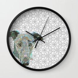 Sweetheart Hound Wall Clock