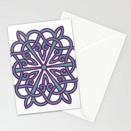 Armenian Rosette No5 Monochrome Ania Stationery Cards