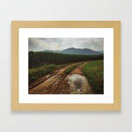 Old Rag Mountain Framed Art Print