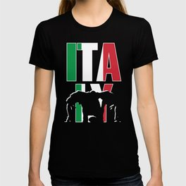 Italy Rugby 2019 Fans Kit for Italian Supporters, Players, Coaches and Rugger Football Lovers T-shirt