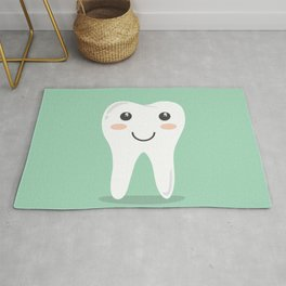 Cute Teeth Rug