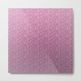 Fashion violet glitter illustration  Metal Print