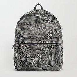 Optic kinetic art Backpack