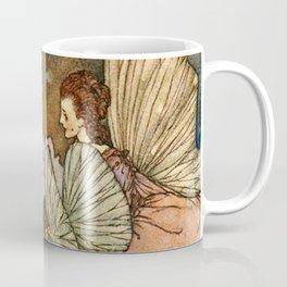 """""""Princess Orchid"""" by Edmund Dulac Coffee Mug"""