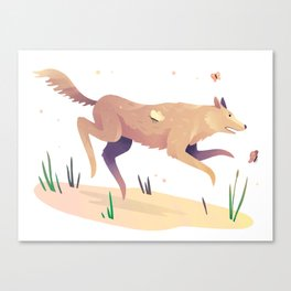 A Very Good Boy Canvas Print