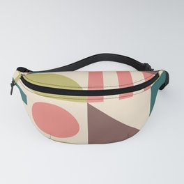 Mid Century Modern Geometric Abstract 927 Fanny Pack
