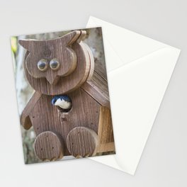 Tree Swallow in Bird House Stationery Cards