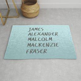 James Alexander Malcom Mackenzie Frazer Rug