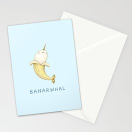 Banarwhal Stationery Cards