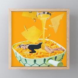 Cheese Dreams Framed Mini Art Print