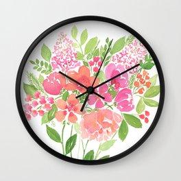 Pink Cada-li-lac Wall Clock