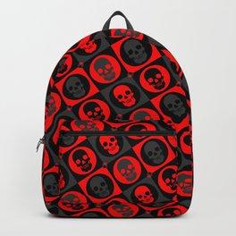 Skull Pattern Version 2   Pop Art Backpack