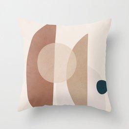 Minimal Shapes No.47 Throw Pillow