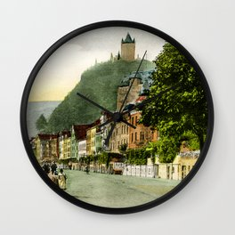 1900 Cochem Mosel Moselle Wall Clock