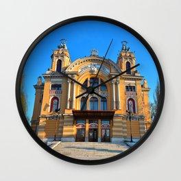 Cluj Napoca National Theatre Wall Clock