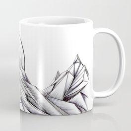 'Crystal Mountain Peaks' Coffee Mug