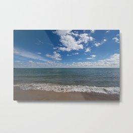 Lake Michigan Waves Metal Print