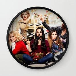 A Bad Moms Christmas 4k 2017 movie thriller Kristen Bell Cheryl Hines Christine Baranski Mila Kunis  Wall Clock