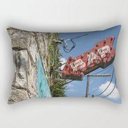 Bar Here - East Austin, Texas Rectangular Pillow