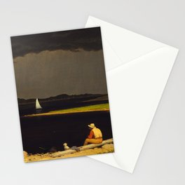 Approaching Thunder Storm by Martin Johnson Heade, 1859 Stationery Cards