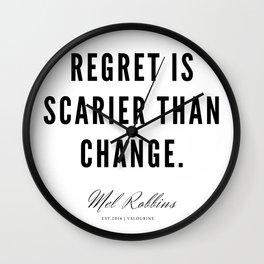 35  | Mel Robbins Quotes | 190802 Wall Clock