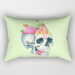 brain freeze Rectangular Pillow