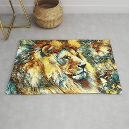 AnimalArt_Lion_20171001_by_JAMColorsSpecial Rug