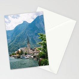 Hallstatt Austria - Idyllic Mountain Lake Town - Austrian Alps Stationery Cards