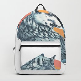 As The Wild Heart Howls Backpack