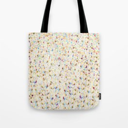 Digital Glitter in Yellow and Gold with Vibrant Sparkles Tote Bag