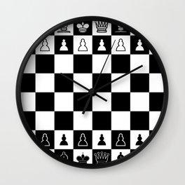 Chess Board Wall Clock