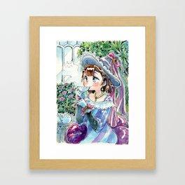 Tea witch Framed Art Print