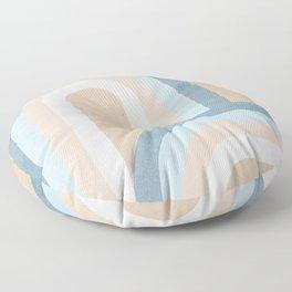 Retro Rainbow connections 4 Floor Pillow